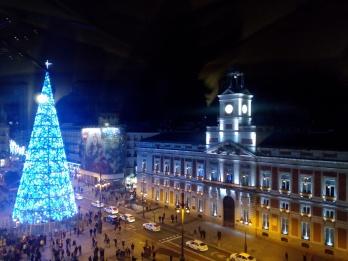 Navidad en Madrid 2017. Qué hacer en Madrid en Navidad en 2017. María del Carmen Castaño Ramos. Luces de Navidad en Madrid, 2017.
