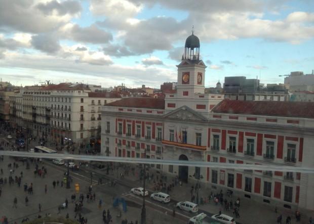 Terraza En Madrid Centro Con Vistas A La Puerta Del Sol