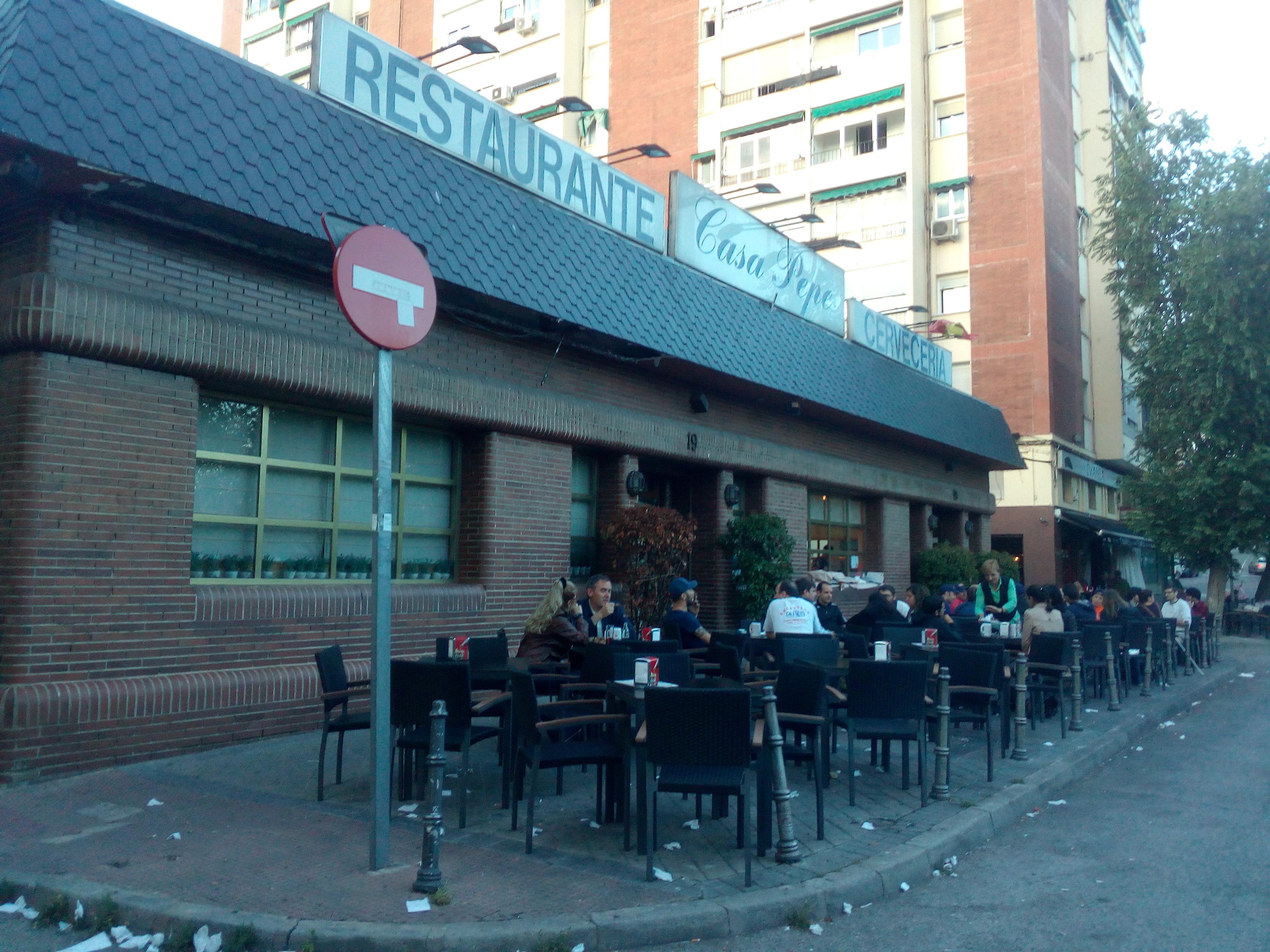 Restaurante Cervecería Casa Pepe Madrid O Pepe El Guarro